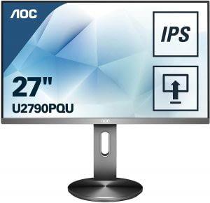 Monitor 4k AOC U2790PQU