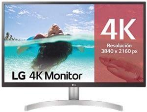 Monitor 4k LG 27UL500-W, el 3r mejor de los monitores 4k baratos