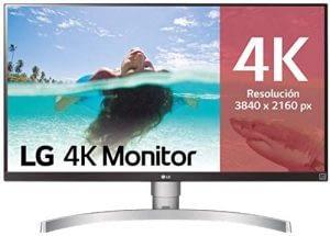 Monitor 4k LG 27UL650-W, mejor monitor 4k calidad-precio de 27 pulgadas